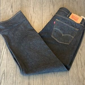 Men's black Levi's Jeans! Perfect condition!